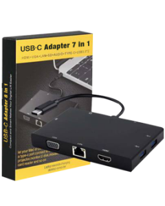 USB-C to HDML 7 in 1 Adapter
