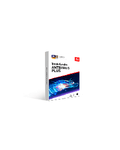 Bitdefender Antivirus Plus 5pc 1 year Retail - 2020 version - Global Except Germany - France- Poland