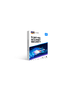 Bitdefender Internet Security 3pc 1 year Retail - 2020 version - Global Except Germany - France- Poland