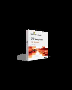 Microsoft SQL Server 2008 R2 Standard with 5 CAL