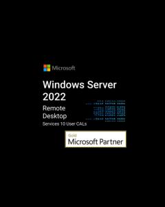 Windows Server 2022 rds 10 user cals