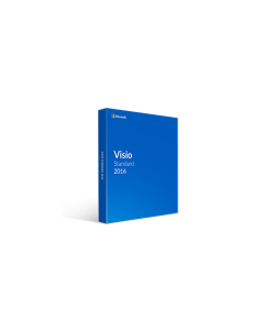 Microsoft Visio 2016 Standard (for Pc Only)