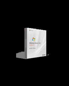 Microsoft Windows Server 2008 Standard w/ SP2 - 5 Clients